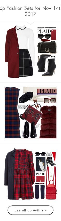 """Top Fashion Sets for Nov 14th, 2017"" by polyvore ❤ liked on Polyvore featuring Hobbs, SET, Chloé, Carla Zampatti, Apple, Bobbi Brown Cosmetics, Thomas Sabo, plaid, contestentry and 10 Crosby Derek Lam"