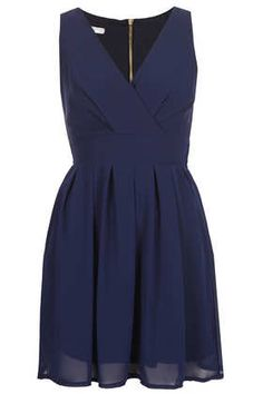 **Cross Bust Chiffon Dress by Wal G - View All - Dresses - Clothing