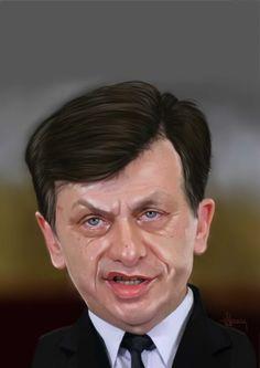 Crin Antonescu (caricature)