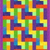 """4 1/2"""" Strip Block - via @Craftsy"""