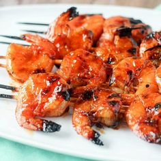 Marinated Beef Kabobs + Awesome Beef Marinade Recipe Grilled Cod Recipes, Grilled Shrimp, Shrimp Recipes, Grilled Food, Kabob Recipes, Marinated Beef Kabobs, Beef Kabob Marinade, Lemon Baked Cod, Butter Pie