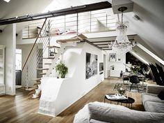 Bostadsrätt, Rosengatan 9 i Göteborg - Entrance Fastighetsmäkleri Design Loft, Loft Interior Design, Design Case, Interior Architecture, Interior Decorating, House Design, Interior Designing, Design Design, Design Ideas