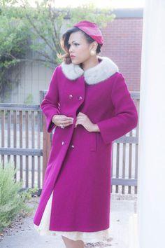 Vintage Coat, 2014 Pantone Color