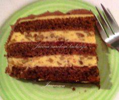 Torte Recepti, Kolaci I Torte, Cookie Recipes, Vegan Recipes, Vegan Food, Posna Predjela, Posne Torte, Chicken And Dumplings, Meatloaf