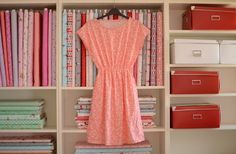 The Staple Dress pattern by April Rhodes looks comfortable