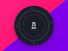 Alarm App, 19 Days, Rebounding, Challenges, Clock, Instagram Posts, Design, Watch