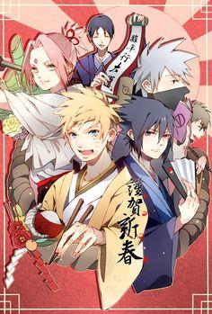 Tags: Fanart, NARUTO, Haruno Sakura, Uzumaki Naruto, Uchiha Sasuke, Sai, Hatake Kakashi, Pixiv, Team 7, Yamato (NARUTO), PNG Conversion, Fanart From Pixiv, Pixiv Id 3470787