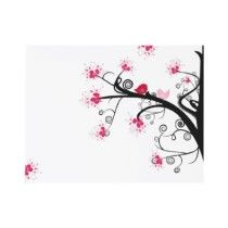"""Sakura"" Japanese Cherry Blossom Party Invites by bd5178"