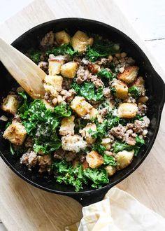 California Pizza Kitchen, Sweet Italian Sausage, Olive Garden, Skillet Dinners, Smitten Kitchen, New Cookbooks, Food Preparation, Kale, Dinner Recipes