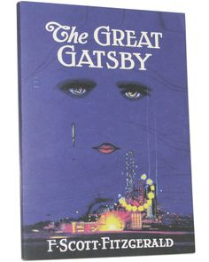 The Great Gatsby book cover notebook | Outofprintclothing.com