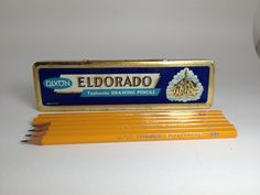 Dixon Eldorado Pencil Tin - Typhonite Drawing Pencils