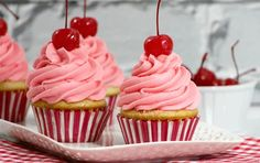 Looking for a delicious Canada Day recipe for your celebration's dessert table? These Cherry Vanilla Cupcakes not only taste amazing, they look festive too! Summer is a time for patriotic holidays …
