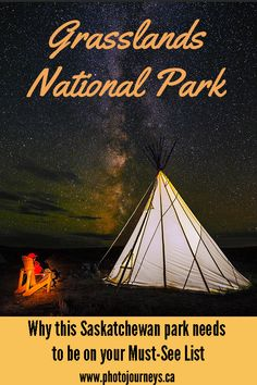 17 Photos to Put Grasslands National Park on Your Must-See List - Photo Journeys Camping Places, Camping Stuff, Cross Canada Road Trip, Canada Tourism, Canadian Travel, Parks Canada, Visit Canada, Photography Lessons, Landscape Photography