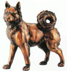 ONO-D20-09 日本犬|干支・動物|置物約束