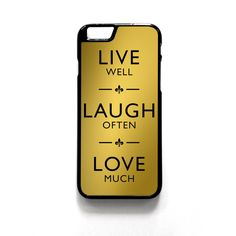 Live Laugh Love Quotes iPhone Case - iPhone 6/6s, iPhone 6 /6s #LiveLaughLove #LiveLaughLoveiphonecase #LiveLaughLovecase