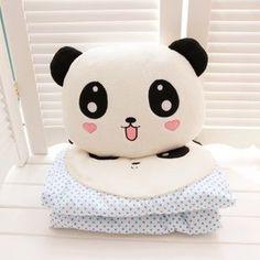 kawaii panda pillow and plush | Kawaii Items | Pinterest