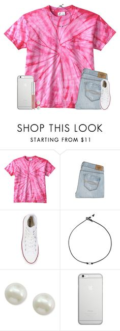 """"" by ashtongg117 ❤ liked on Polyvore featuring Abercrombie & Fitch, Converse, Majorica and Native Union"