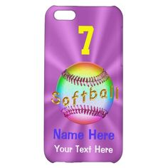 30% OFF All MOBILE Devices til 12-31-2014 11:59PM Zazzle Discount CODE: GIFTACASE014 Unique Personalized Softball iPhone 5C Cases for Her Click Link:  http://www.zazzle.com/cool_personalized_softball_iphone_5c_cases_for_her-256567961899918301?rf=238147997806552929   See ALL Sports phone sport cases Click Link Here:  http://www.zazzle.com/littlelindapinda/gifts?cg=196413562739864280&rf=238147997806552929    CALL Linda for HELP, Changes: 239-949-9090