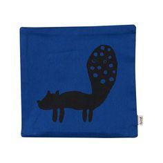 Alex and Alexa | ferm LIVING Blue Fox Cushion