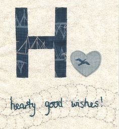 H is for Hearty good wishes by Janet Clare  #spellitwithmoda  Moda... the Cutting Table: Moda Designer's blog hop- Spell it with Fabric