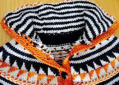 Oranje Speed Skater Sweater by Ann Weaver Free Knitting, Knitting Patterns, Icelandic Sweaters, Last Stitch, Knitting Magazine, Circular Needles, Stockinette, Drops Design, Needles Sizes
