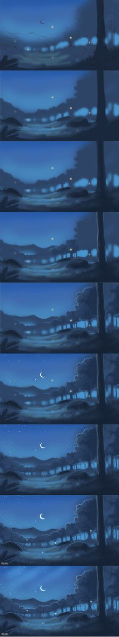 Lonely Night Steps by =kalambo on deviantART