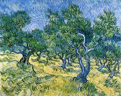 Van Gogh - Olive Grove 1889