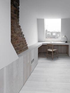 A minimalist interior with excellent attention to detail.