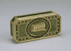 Box with Profile Images of the Six Children of Tsar Paul I