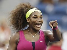 Serena, woman tennis player of the year (at least in my book)