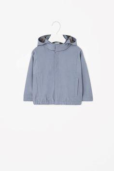 COS | Zip-up hooded jacket