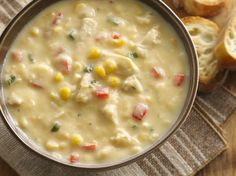 One of Betty's most popular soups of all time! A handful of ingredients (including Betty's Ultimate Cheddar mashed potatoes) mean this easy, cheesy soup comes together in a flash. Just add a baguette or dinner rolls and a green salad, and you're good to go. If you can't find the cheddar mashed potatoes, Betty members say other flavors will work just as well.