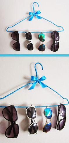 Okato World: DIY & Crafts: Organizador de Gafas.