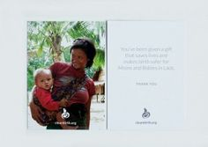 Baby Shower Hostess Cards - CleanBirth - Saving Mothers and Babies in Laos Baby Shower Hostess Gifts, Baby Shower Favors, Mom Cards, Mothers Day Cards, 2nd Birth, Mom Day, Mother And Baby, Save Life, Organizations