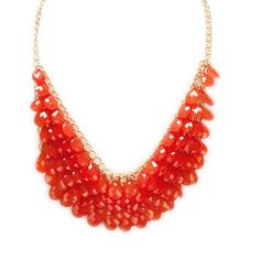Stephan and Co. Juniors Multi-Row Teardrop Bib Necklace #VonMaur