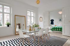 Renovated Heirloom Apartment Combines Original Information With Modern Day Decor | 2014 interior design article