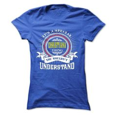CHRISTIANA .Its a CHRISTIANA Thing You Wouldnt Understa - #gift basket #gift friend. SECURE CHECKOUT => https://www.sunfrog.com/Names/CHRISTIANA-Its-a-CHRISTIANA-Thing-You-Wouldnt-Understand--T-Shirt-Hoodie-Hoodies-YearName-Birthday-41009691-Ladies.html?68278