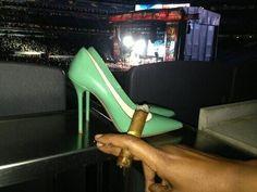 Mrs C's  Shoes n Mr C's Cigar