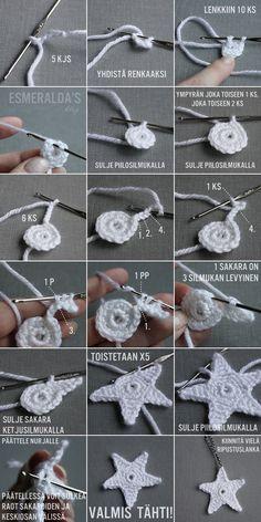 DIY Crochet Star