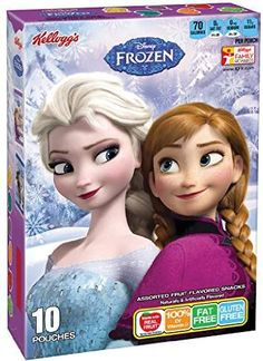 (Discontinued by Manufacturer)Kellogg's Disney Frozen Fruit Flavored Count, 8 Ounce Disney Frozen Bedroom, Disney Frozen Toys, Disney Food, Little Girl Toys, Toys For Girls, Fruits For Kids, Kids Fruit, Chocolate Candy Brands, Cute Doodle Art