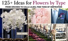 Lots of fresh flowers to create an outdoorsy fresh feel to wedding