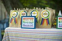 "Photo 16 of 52: Wizard of Oz - Rainbow / Birthday ""Somewhere Over the Rainbow"" | Catch My Party"