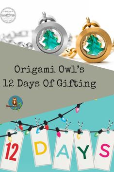 Origami Owl's 12 Days Of Gifting