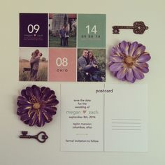 Custom Save the Date Postcards by ME :) www.etsy.com/shop/FerrisWheelEvents
