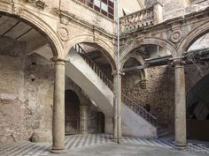 Renewal of the Palau-Castell Renaissance Cloister
