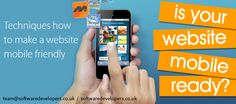 #Techniques How to Make a #WebsiteMobile Friendly to #boost your sales in 2015
