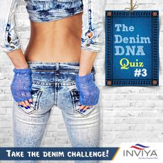 Time to test your denim quotient! Which was the first brand of Jeans? a)Lee b)Wrangler c)Levi Strauss & Co. Share your answers with us. Fashion Quiz, New Freedom, Levi Strauss & Co, Jeans Brands, Challenges, Denim, Pants, Trouser Pants, Jeans