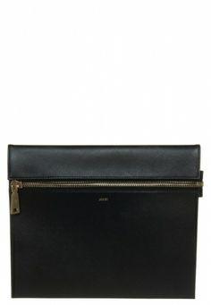 Joop!: Joop! NEMESIS Kopertówka czarny Zip Around Wallet, Bags, Fashion, Handbags, Moda, Fashion Styles, Fashion Illustrations, Bag, Totes
