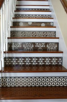Stair Riser / Alternative to Stair Decals and by TributeDesigns