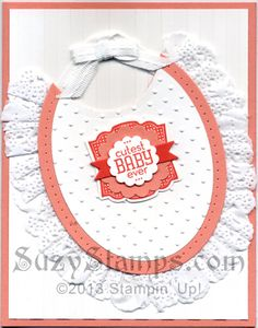 2013-07 Stampin' Up! Cards Stamp Camp - Label Love Stamp Set, Artisan Label Punch - Cutest Baby Ever